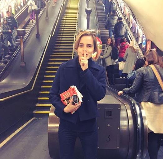 emma watson books on the underground